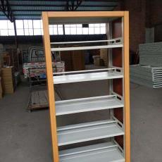 供應逾洋牌木護板存報架報紙架高檔鋼木書報架廠家直銷可定制批發