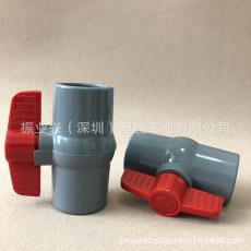 简单型球阀 台湾环琪CPVC国标球阀 CPVC普通球阀DIN CPVC简单球阀