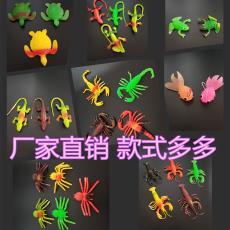 仿真动物批发 大号仿真蜘蛛仿真橡胶蛇整蛊玩具橡胶蜥蜴 蛇 蜘蛛