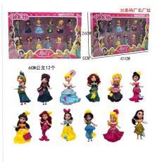 實拍新款舞動公主12款公主大集合公主手辦玩具
