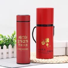 新款喜庆不锈钢保温杯时尚便携直身杯创意广告礼品水杯定制批发