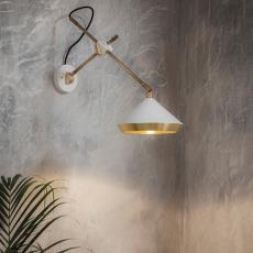 后现代简约卧室床头壁灯工业美式北欧可调节装饰设计师酒店过道灯