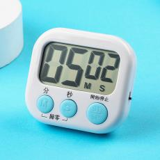 廚房定時器烹飪烘焙計時器學生鬧鐘倒計時秒表記時器電子提醒器