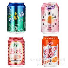 新品碳酸味飲品320ml*24罐聽裝外賣低價便宜自助餐飲料批發