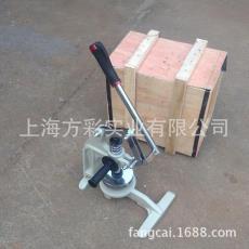 供应北京纸张克重仪圆盘切割器土工布圆盘取样器手压式