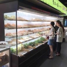 冷柜超市冰箱点菜柜冷藏冰柜展示柜风幕柜水果保鲜柜