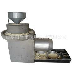開封1米直徑小麥粉石磨機 出面率高 可試機的粗糧脫皮磨面機
