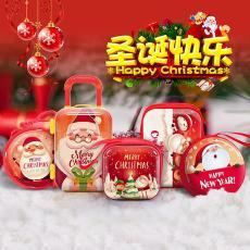 现货批发新款圣诞节装饰礼品卡通可爱儿童礼物袋圣诞老人挂件玩具
