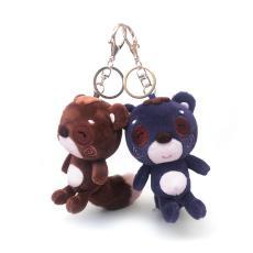 浣熊公仔玩具公仔小浣熊茶色小熊毛绒玩具熊超可爱浣熊钥匙扣挂件